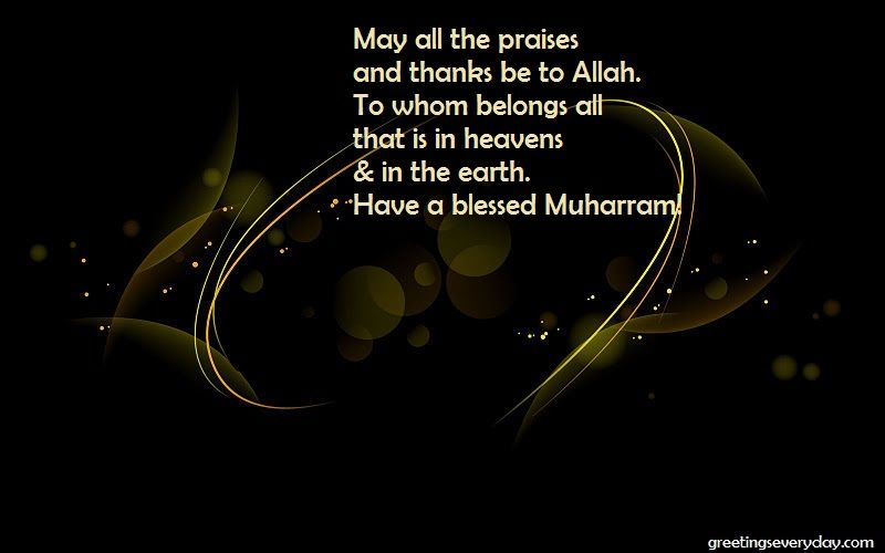 Nice Happy Islamic New Year/ Muharram Wishes Quotes, Sayings U0026 Slogans