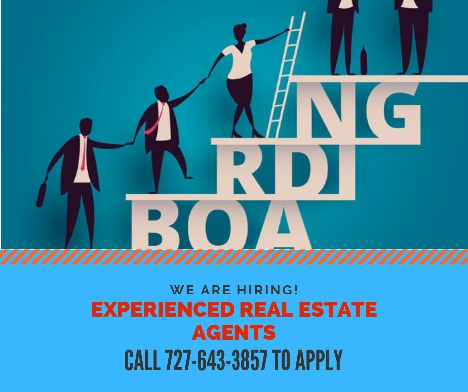 Join our pool of professional real estate agents give us
