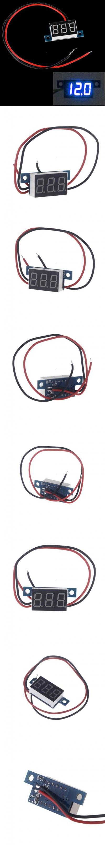 Ts Voltmeter Meter Module Meters Pinterest Motorcycle Accessories Wiring 294