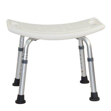Grey Bathroom Safety Shower Tub Bench Chair Bath Baby Drive Medical White