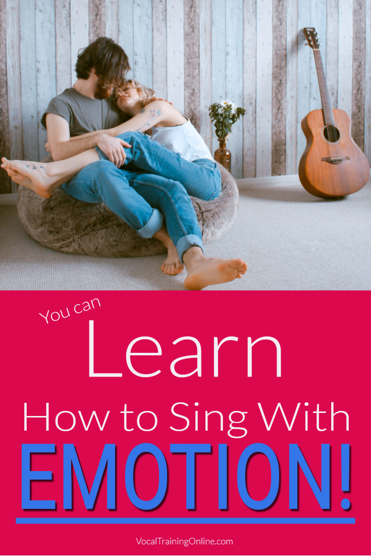 You Can Learn How to Sing with Emotion - Discover the technical singing skills you need to learn how to sing with emotion. Find out how to easily use vibrato, your warm voice and get more singing tips to help you become a better vocalist. #singwithemotion #singingtips #howtosing