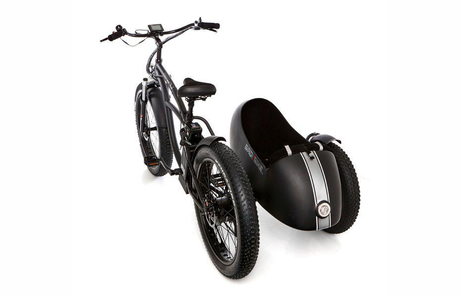 beach vintage fat seitenwagen stromrider retro e bikes. Black Bedroom Furniture Sets. Home Design Ideas