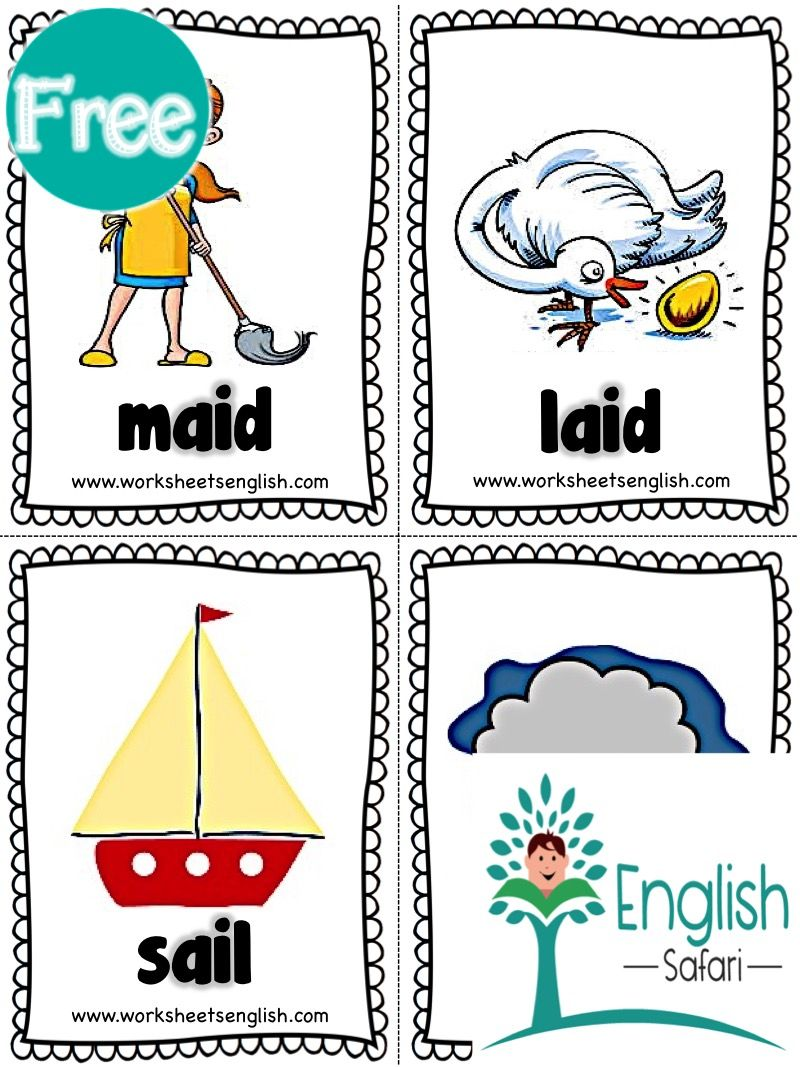 Free Ai Words With Pictures Www Workseetsenglish Com Phonics Flashcards Flashcards Phonics Worksheets Free [ 1067 x 800 Pixel ]
