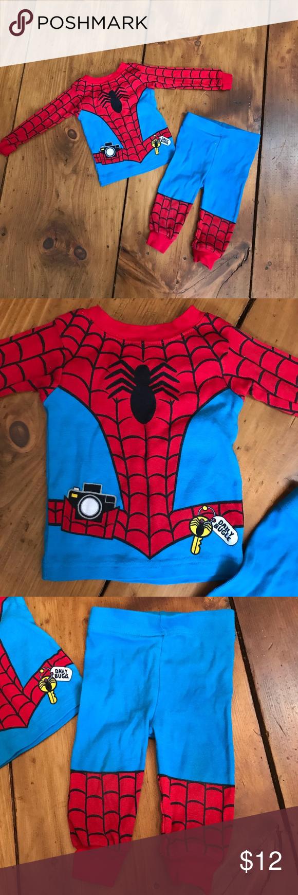 Pajama set Spiderman boys 12 months new