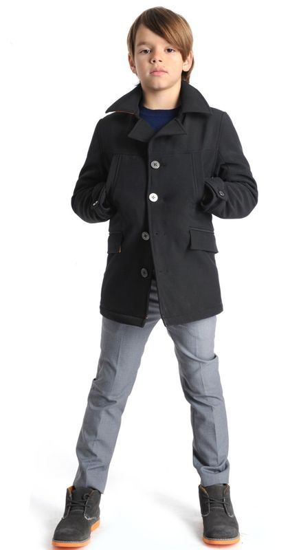 Fall fashion for kids from Appaman: Pea coat style mid-length jackets. For more cool fall clothing for kids, check out www.appaman.com