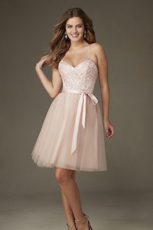 Bridesire - A-Linie Herz-Ausschnitt Kurz/Mini Kleid [BDNML131 ...