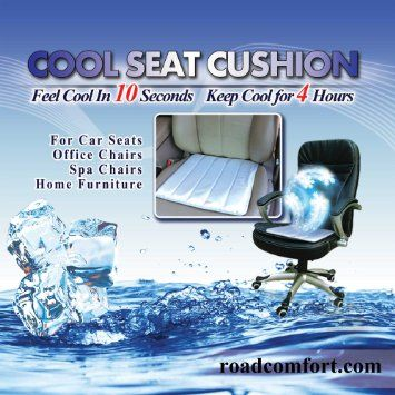 Amazon Com Cooling Seat Cushion Cool Pad For Wheelchair Car Seat Office Chair Buy 2 Pads To Receive Extra 5 Off Cool Stuff Car Seats Seat Cushions
