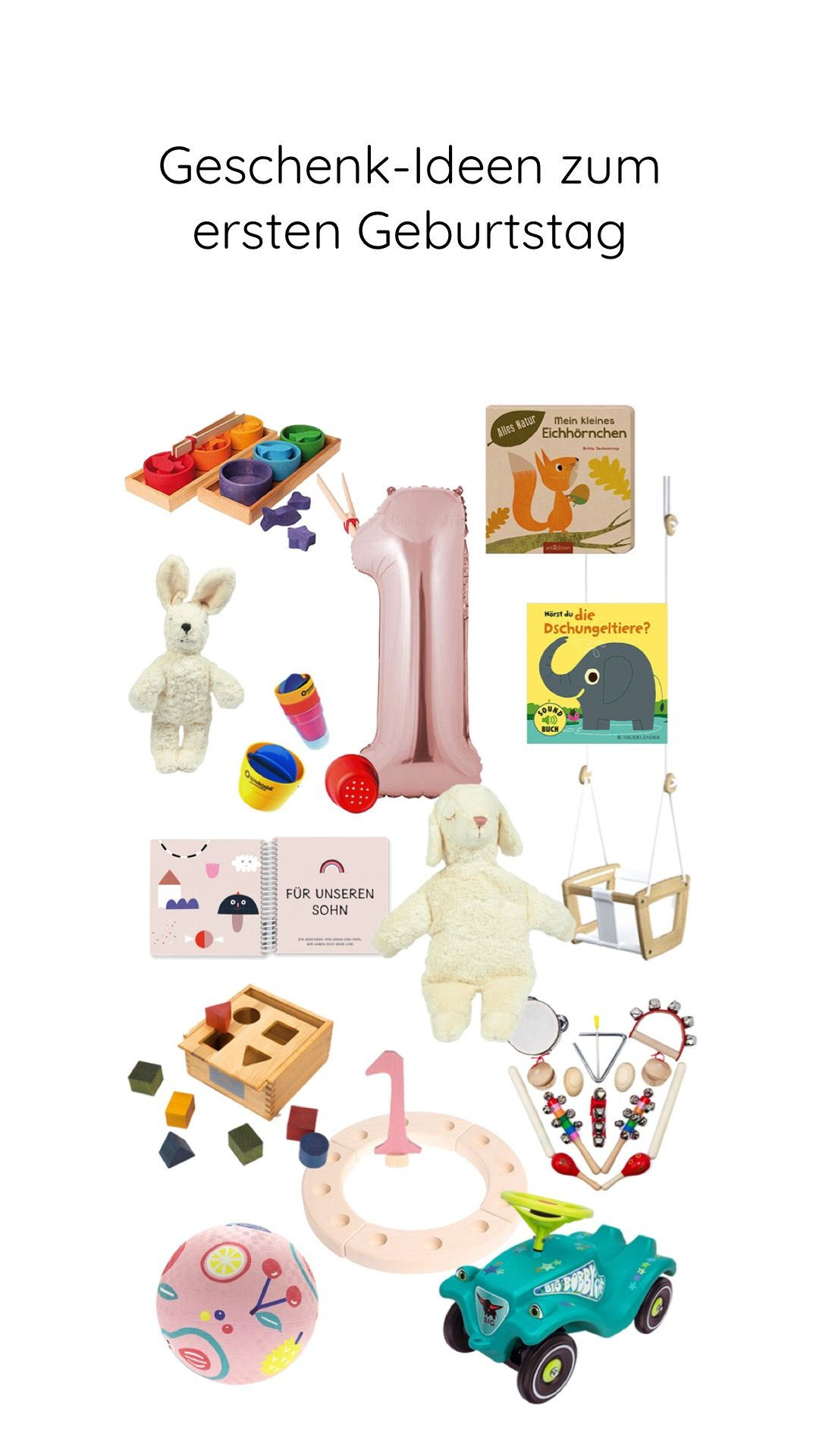 Ella Wird 1 Geburtstagsgedanken Und Geschenk Ideen Zum Ersten Geburtstag Pinkepank Geschenke Zur Geburt Junge Geburtstag Geburtstag Junge
