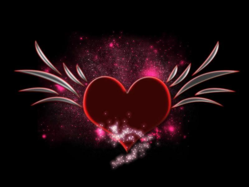 Hearts Background Wallpaper | Letter a Studio | Hearts ♥ L ...