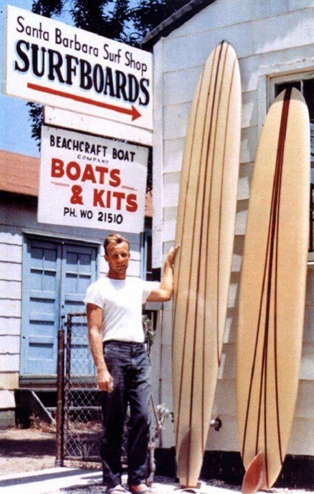 california surf board Vintage