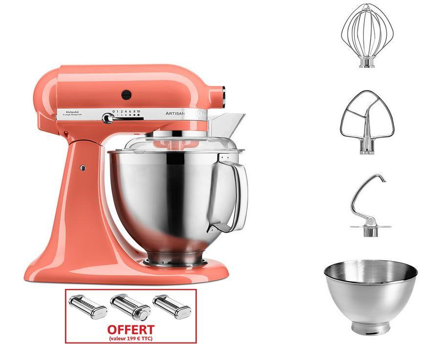 Kitchenaid kitchenaid robot de cuisine set 3 rouleaux