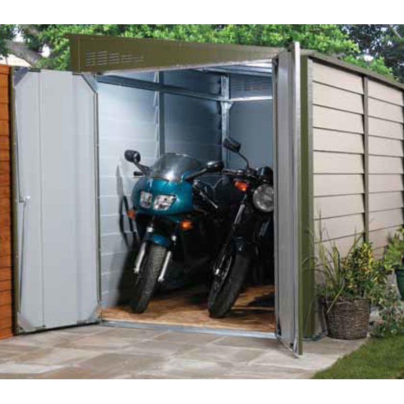 Garage motos abri m tallique titan 960 cm for Garage achat vente reprise