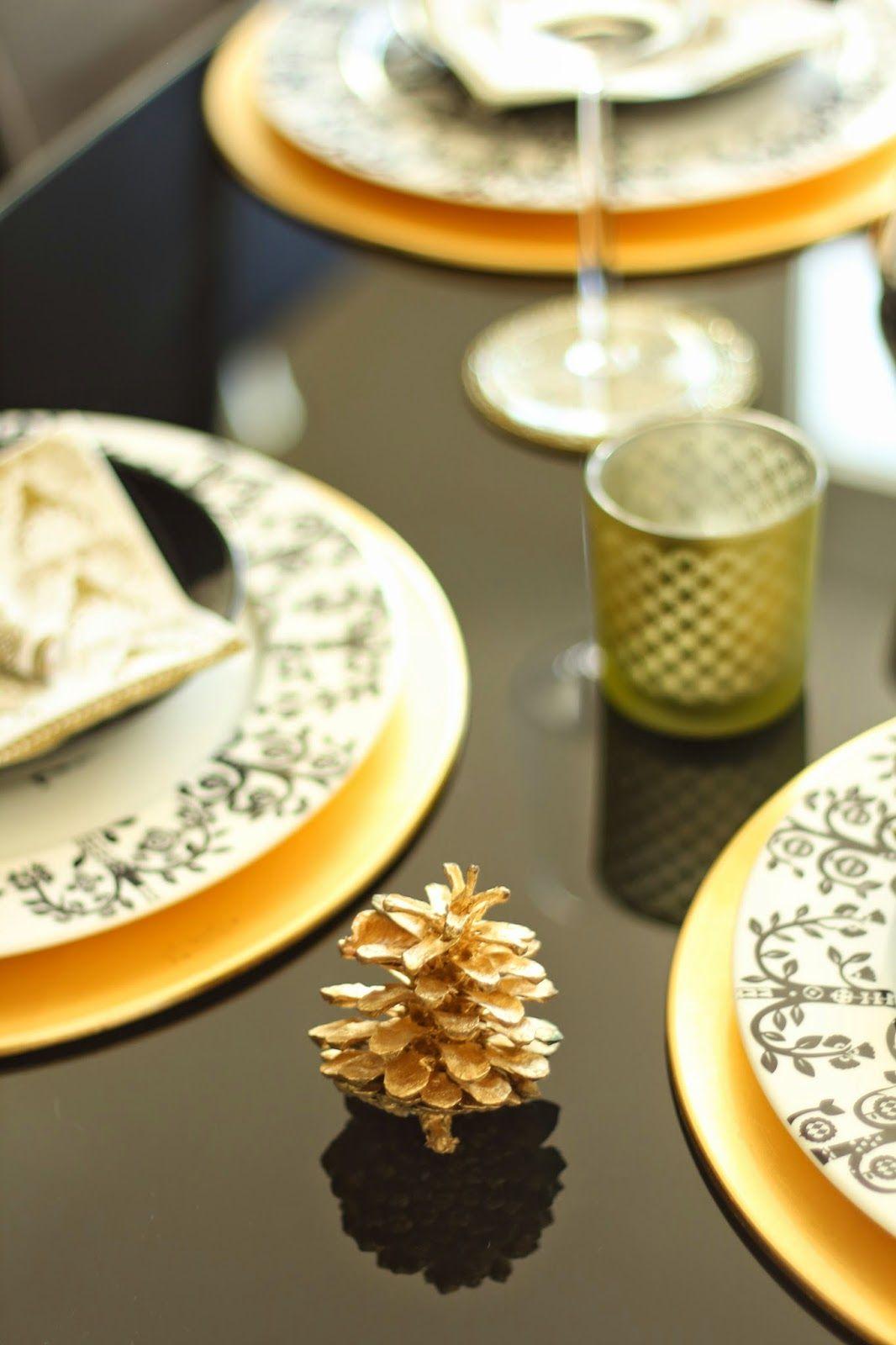9b35bda9435 NYE - BLACK & GOLD ACCESSORIES | Nõud: Iittala Taika | Party ...