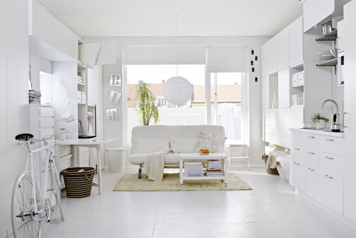 comfortable white airy space ikea 2014 living room design ideas with cool gateleg table nice sofa bed coffee ta