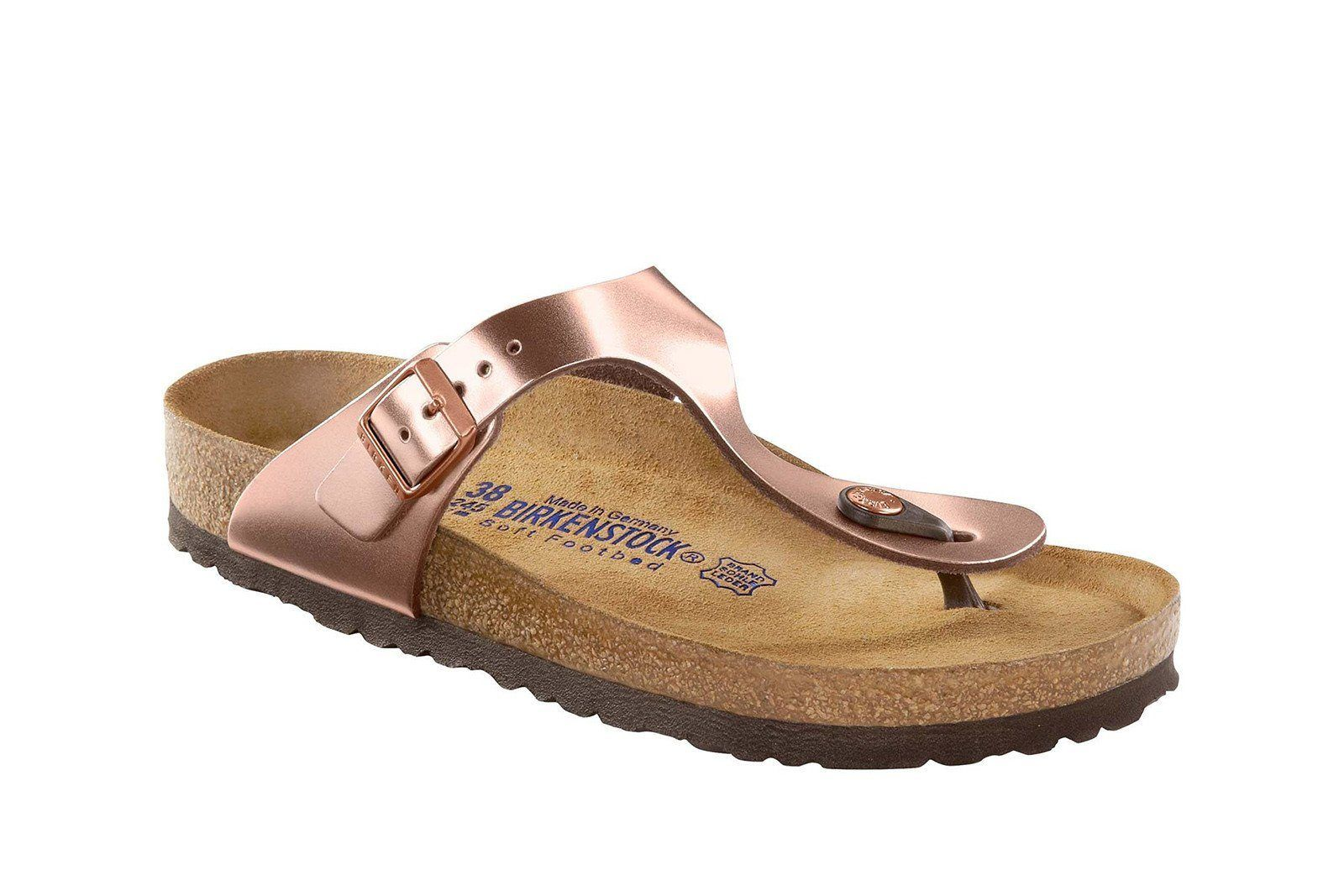 Birkenstock Gizeh (Metallic Copper) | 1004278 | Gizeh in