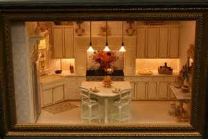 This 1:12 scale kitchen created in a Ray Whitledge Class is part of a ...