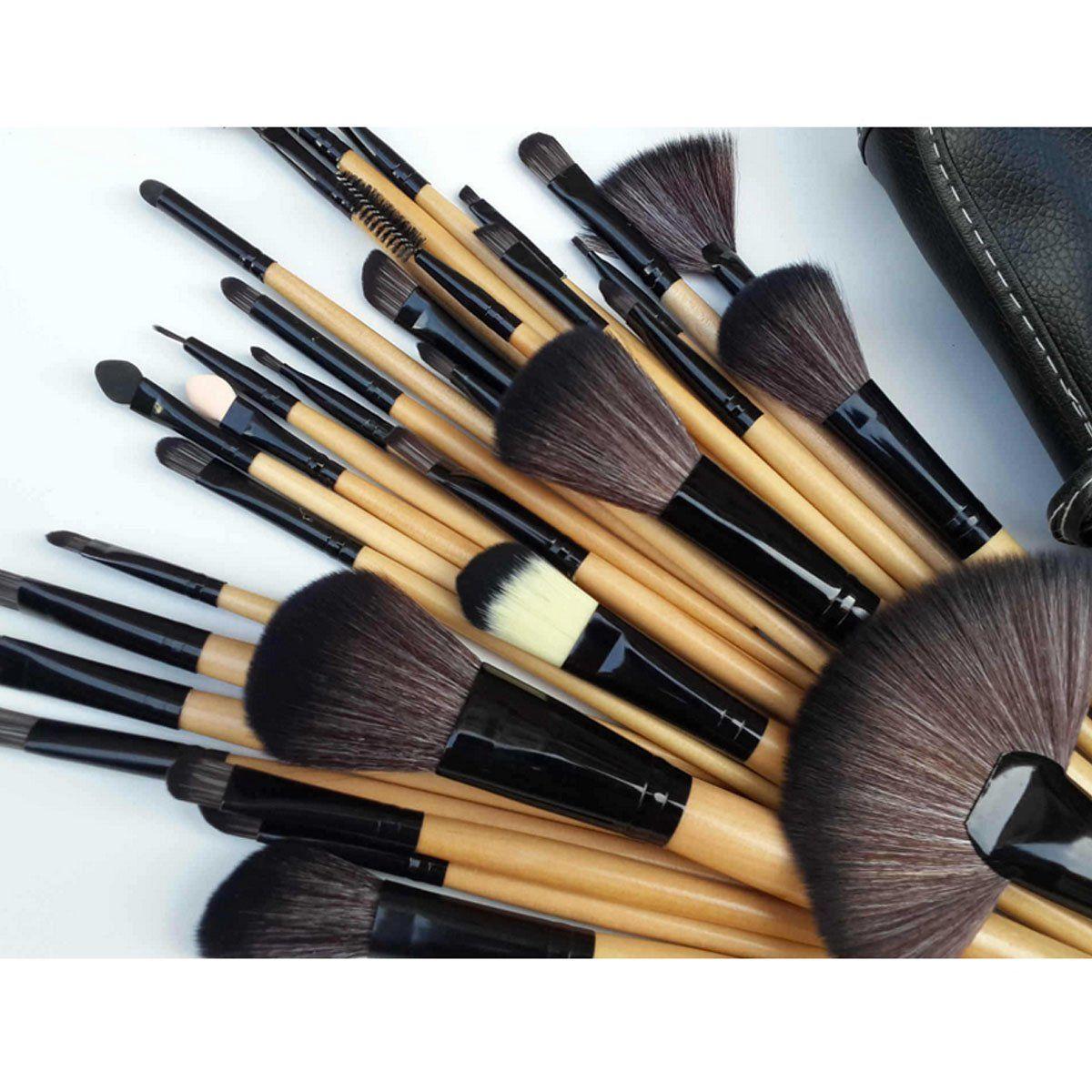 15 pcs Foundation Cream Blush Eyeshadow Eyeliner Eyebrow