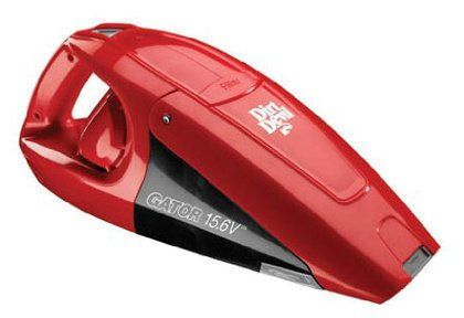 Dirt Devil BD10125 Gator Cordless Handheld Vacuum Cleaner, 15.6v $43.79  It matches the car!!!!