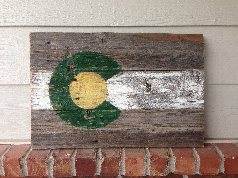 Csu Rustic Wood Colorado Flag Colorado State University Etsy In 2020 Wood Art Rustic Wood Colorado Flag