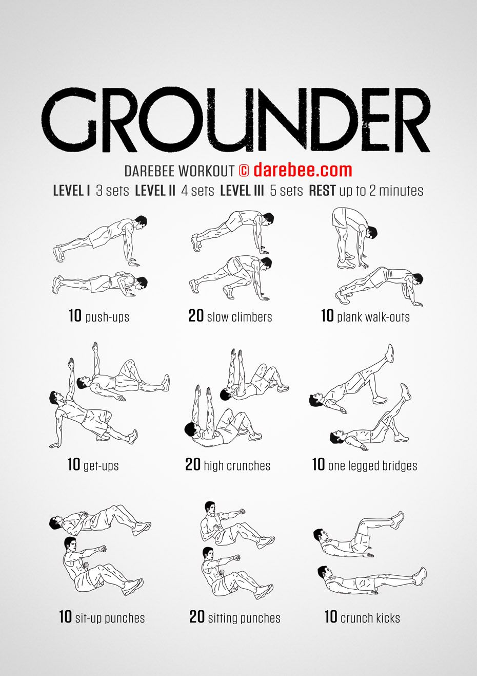 Grounder Workout Posted By Customweightlossprogram