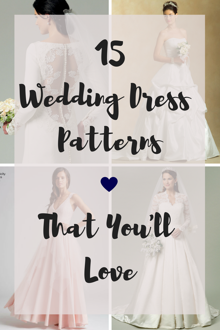 lots of patterns to sew your own wedding dress  Sewing  Pinterest
