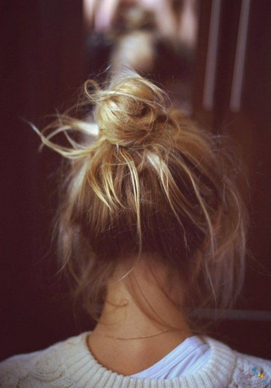 фото девушки блондинки спиной на аву