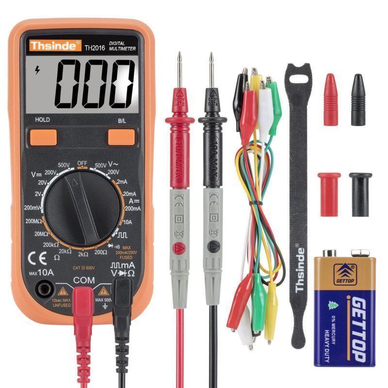 Digital Voltmeter Ammeter Ohmmeter Multimeter Ac Dc Voltage Tester Multi Tester Zhencheng Custom Multimeter Ac Dc Voltage Installing Recessed Lighting