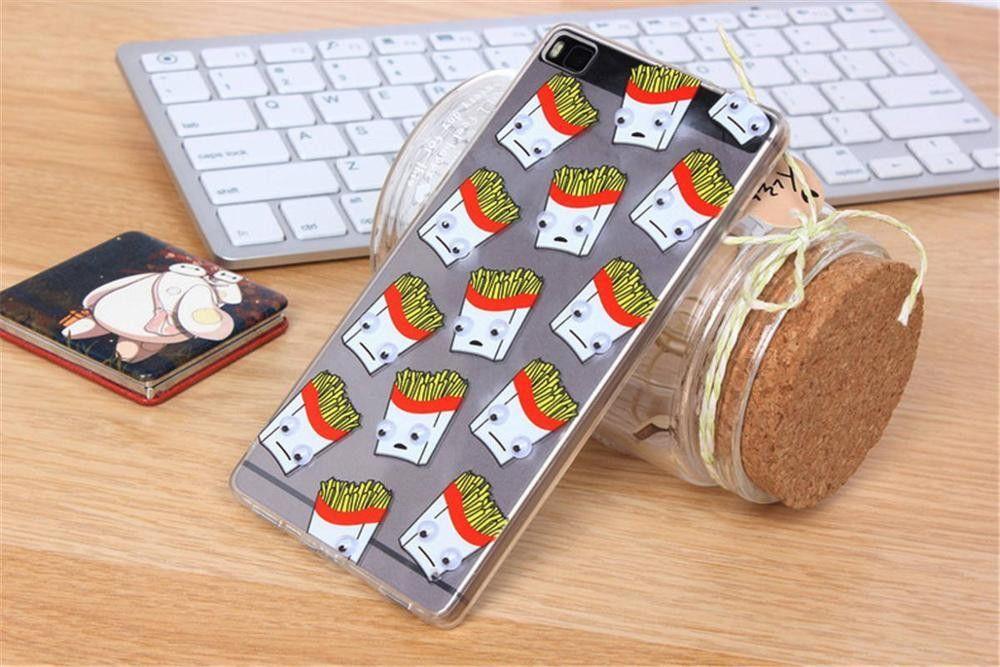 coque huawei p8 lite pop corn