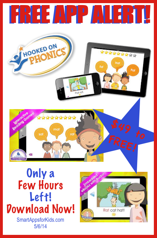 Pin by Smart Apps For Kids on FREE APP ALERT!! Hooked on