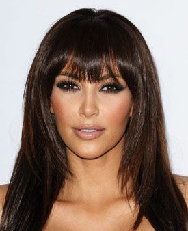 Best Kim Kardashian Makeup Look #1: The Classic Smoky Eye