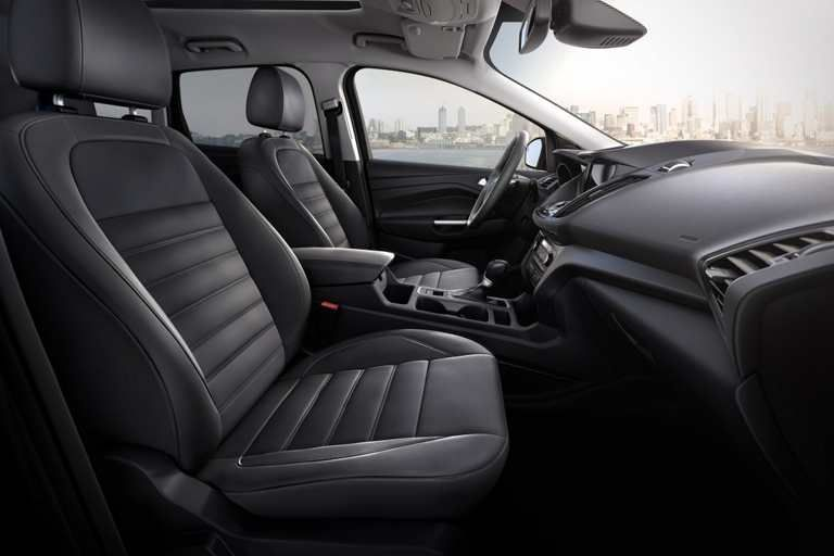 2017 Ford Escape Titanium Interior In Charcoal Black With Images