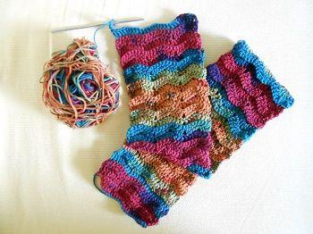 virkattu kaulaliina (crochet scarf)
