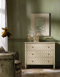 Living Room Furnishings | Raised Lattice Front Chest | Mèlange | Bedroom Set | Hooker Furniture - By Hooker Furniture