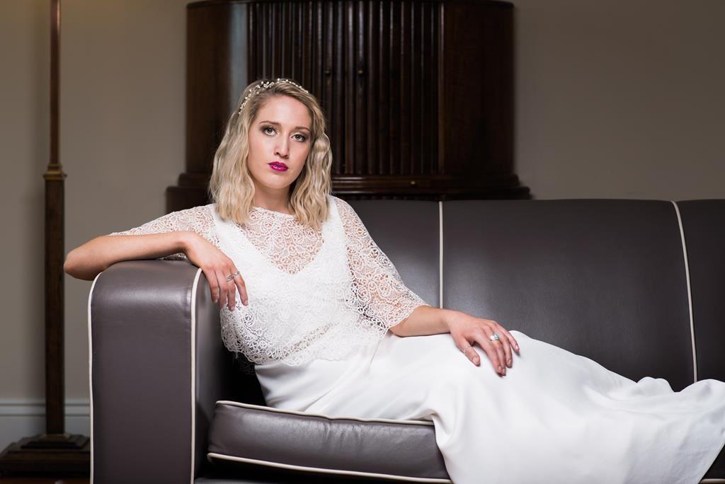 Wedding Dresses Portland Dorset Art Deco Photoshoot Brides