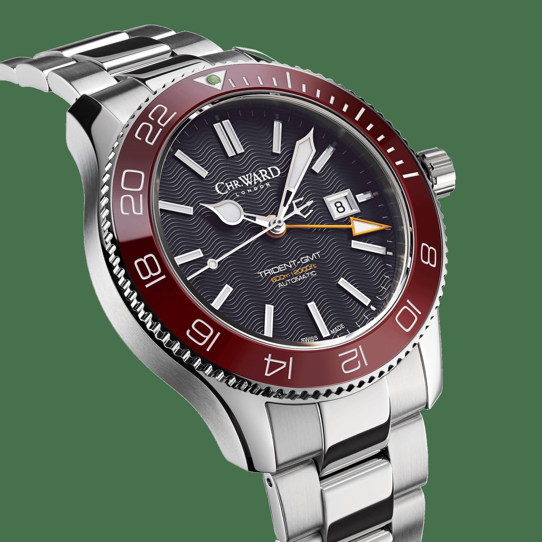 48be2cb20 C60 Trident Pro GMT 600 - Christopher Ward Luxusní Hodinky, Hodinky Rolex,  Sportovní Hodinky