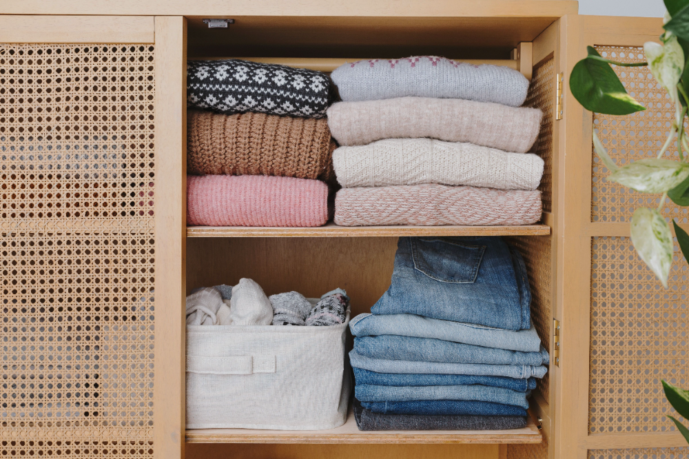 Declutter Your Dressers, Shelves, Closets, and Drawers