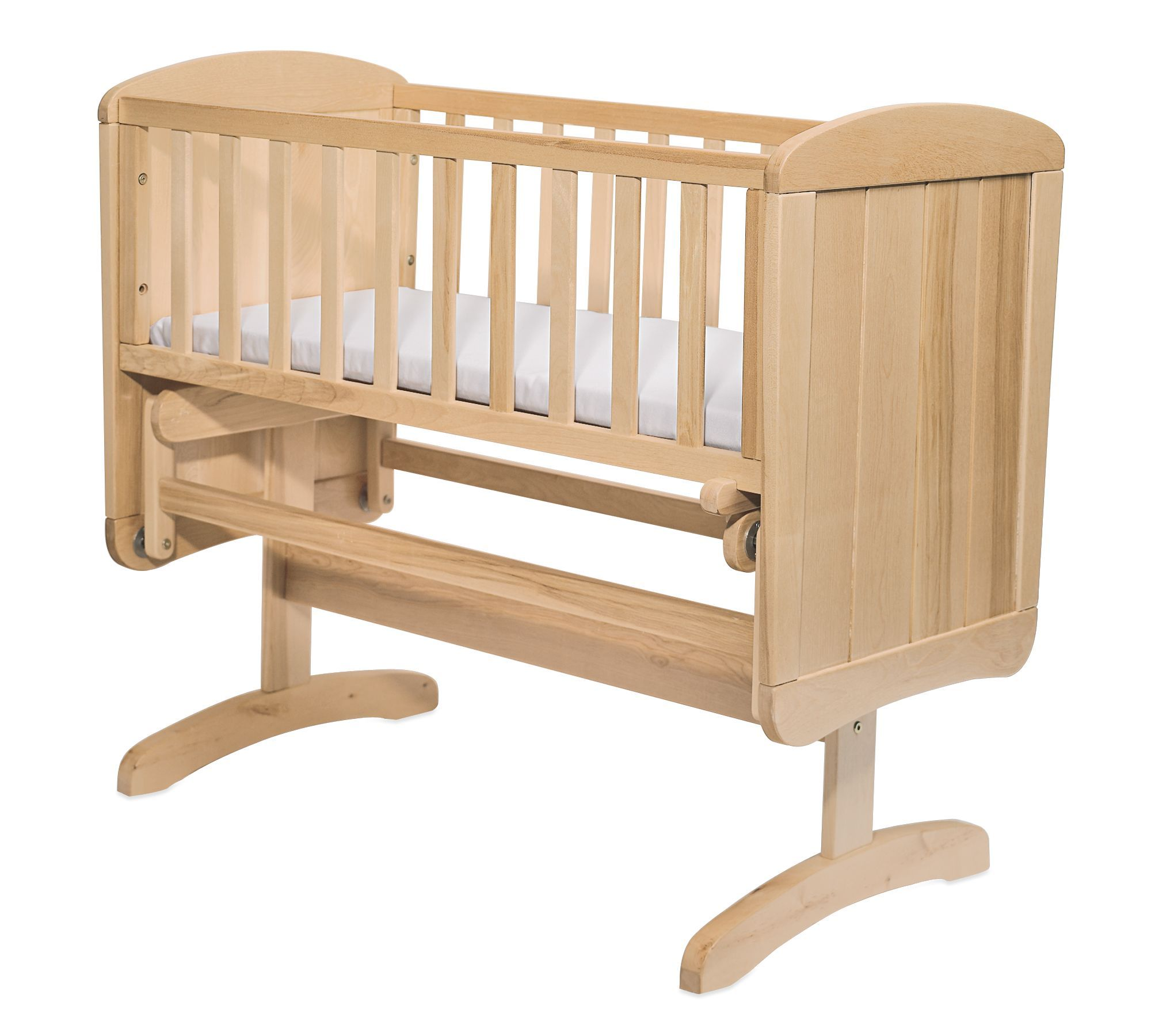 Mothercare Deluxe Gliding Crib Natural. GOT THIS IN THE