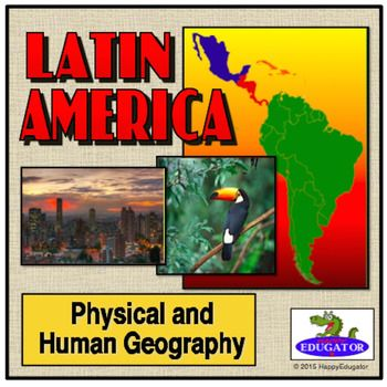 Latin america regional powerpoint map countries names maps for latin america powerpoint all about latin america by happyedugator teachers pay teachers toneelgroepblik Gallery