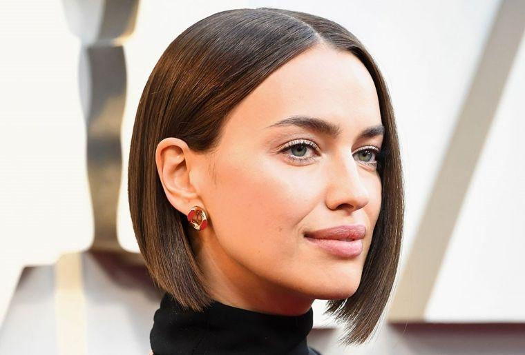 Modella famosa capelli corti