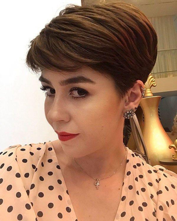 Best Pixie Cut 2019 Hair Short pixie haircuts, Pixie