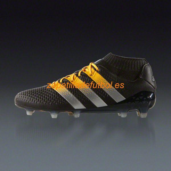 100% authentic a6d0a 3f61a ... Salida Zapatos de Futbol Adidas Ace 16.1 Primeknit FGAG Negro Mate De  Plata Solar wholesale dealer ...