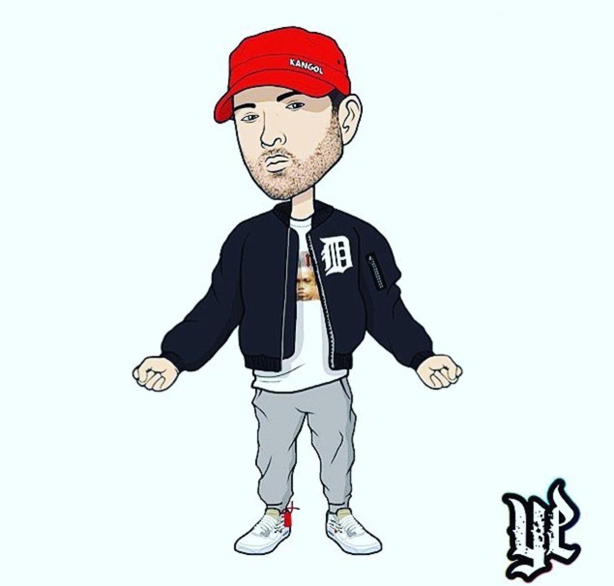 Aww He S So Cute Eminem Eminem Rap Eminem Drawing