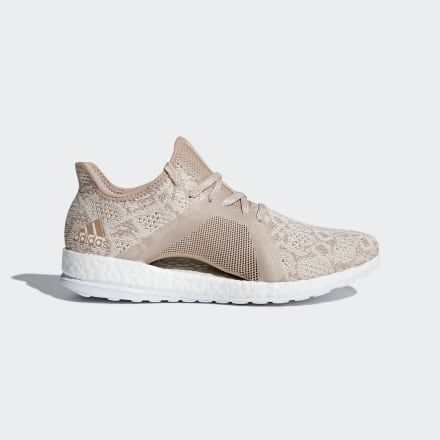 Pureboost X Element Shoes Beige Womens in 2019 | Adidas pure
