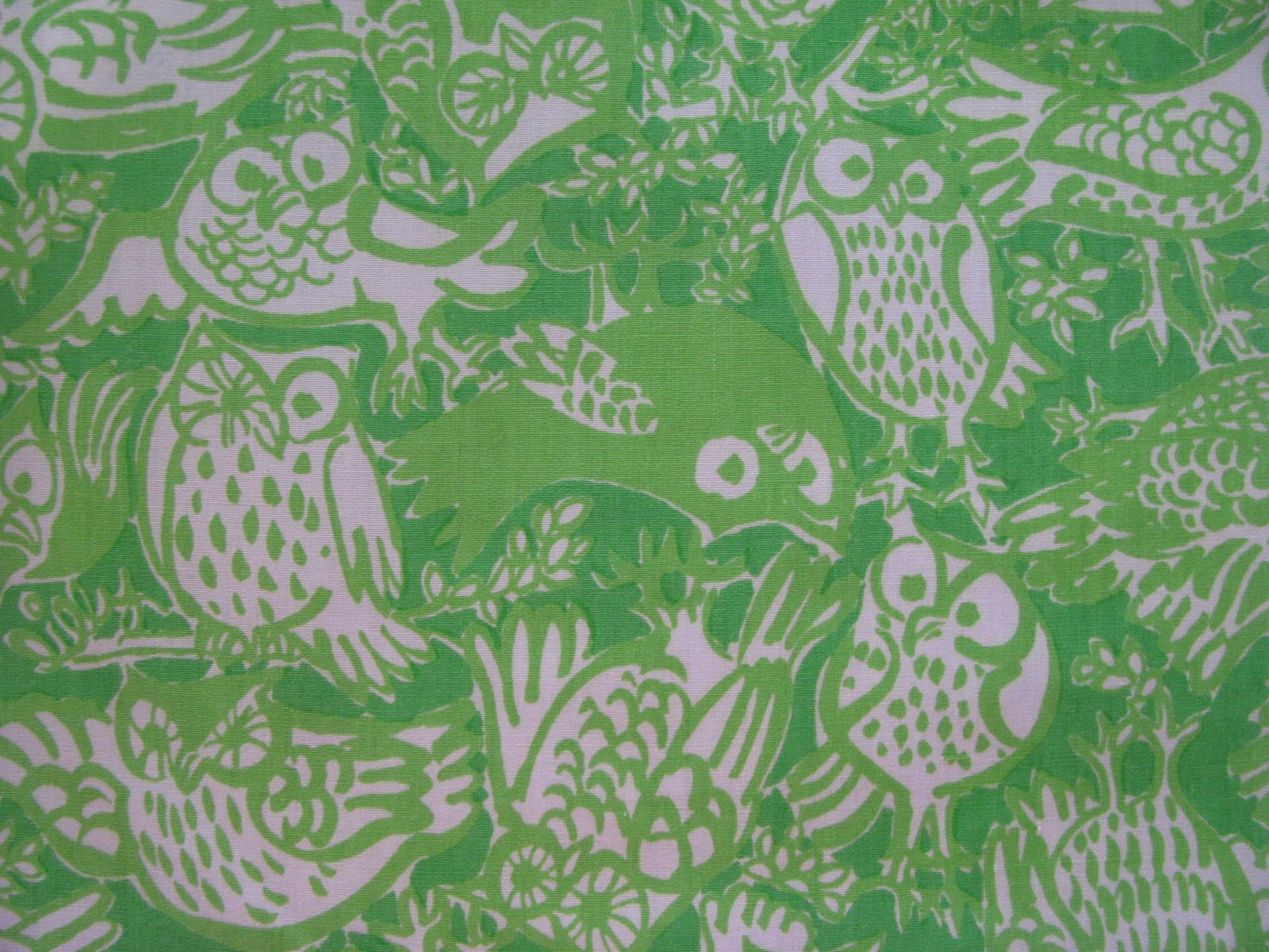 what a hoot vintage lilly pulitzer owl print from vintage the