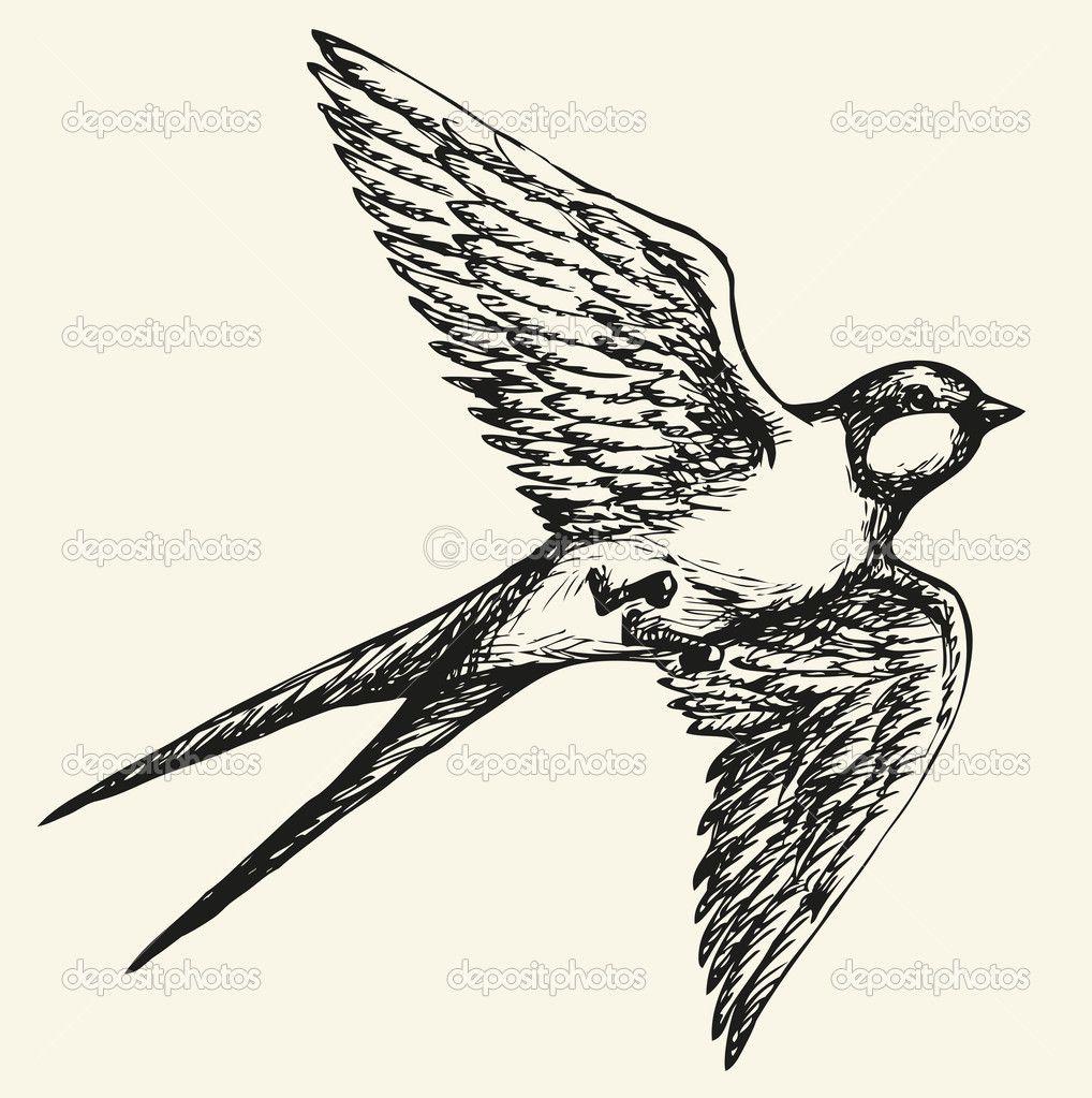 dibujos de pájaros a lapiz volando - Buscar con Google