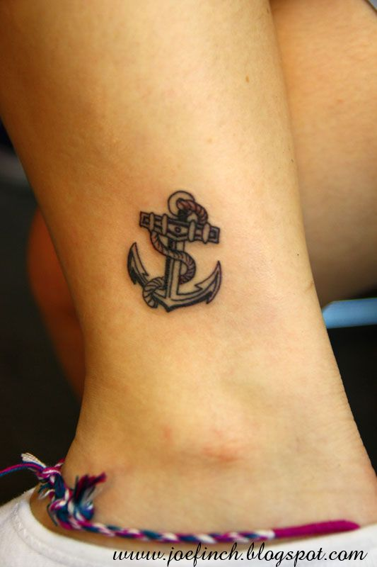 Anchor Tattoo Ankle Tattoo Designs Hook Tattoos Ankle Tattoo Small