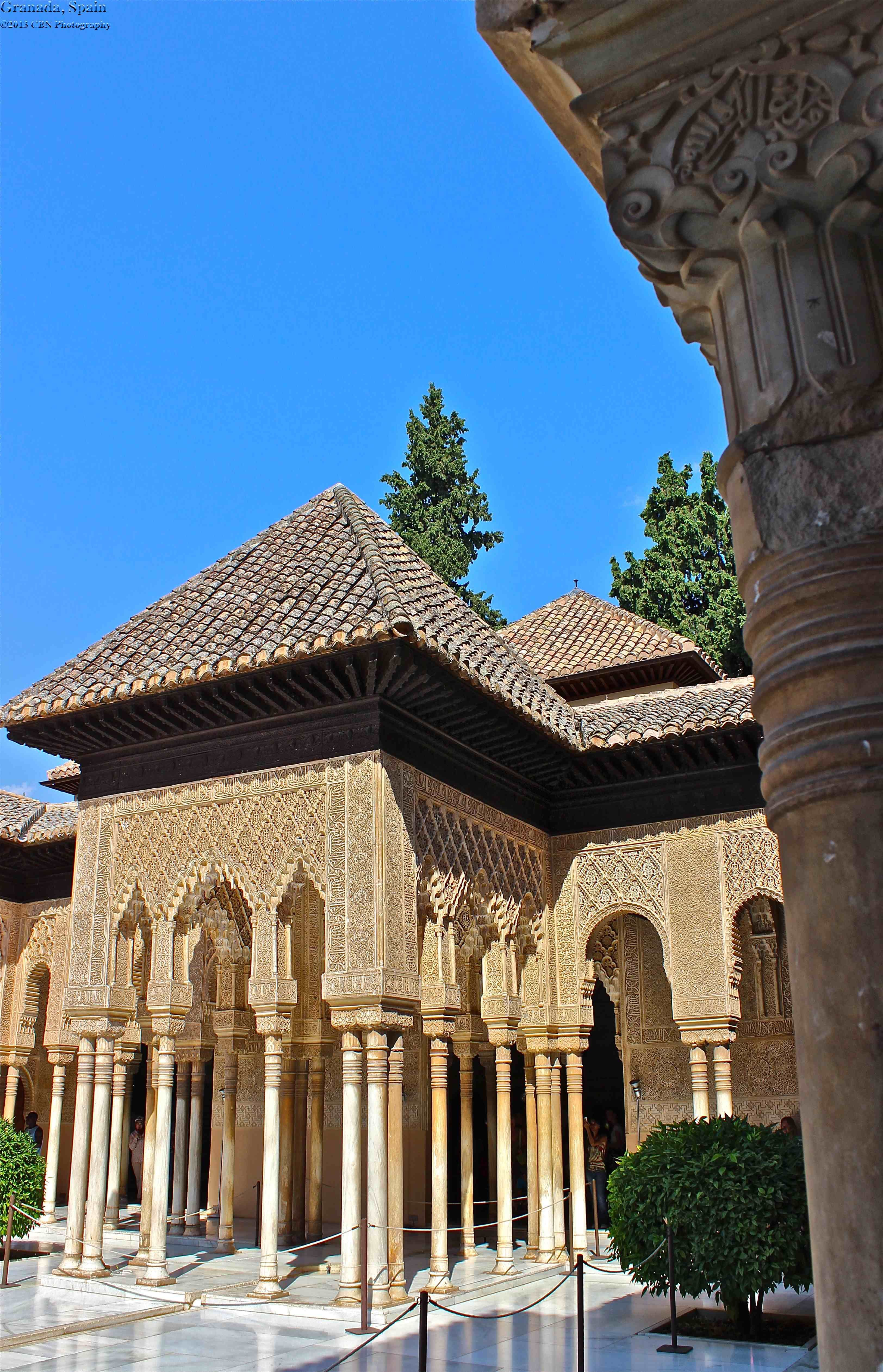 Lions Palace, The Alhambra, Granada, Spain