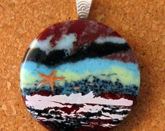 fused glass jewelry - Google Search