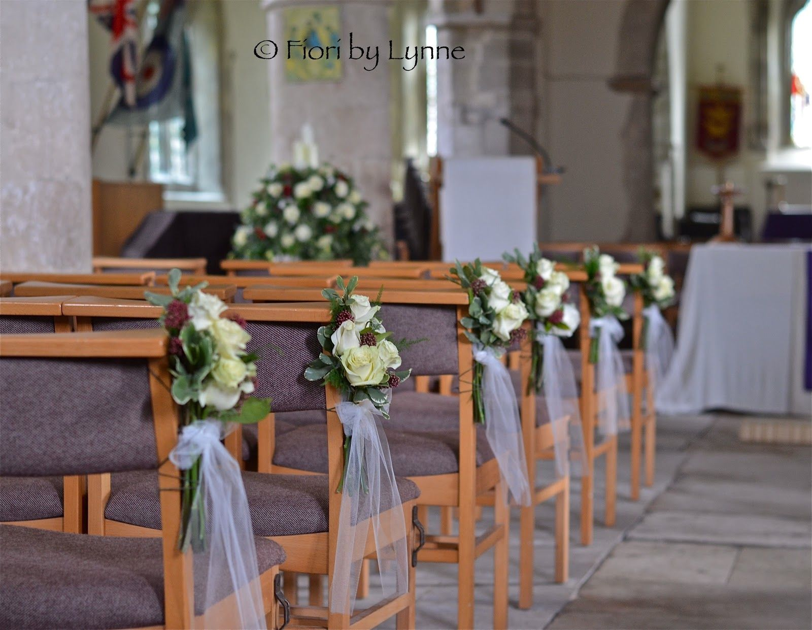 wedding church flowers - Cerca con Google | Flowers and Bouquet ...