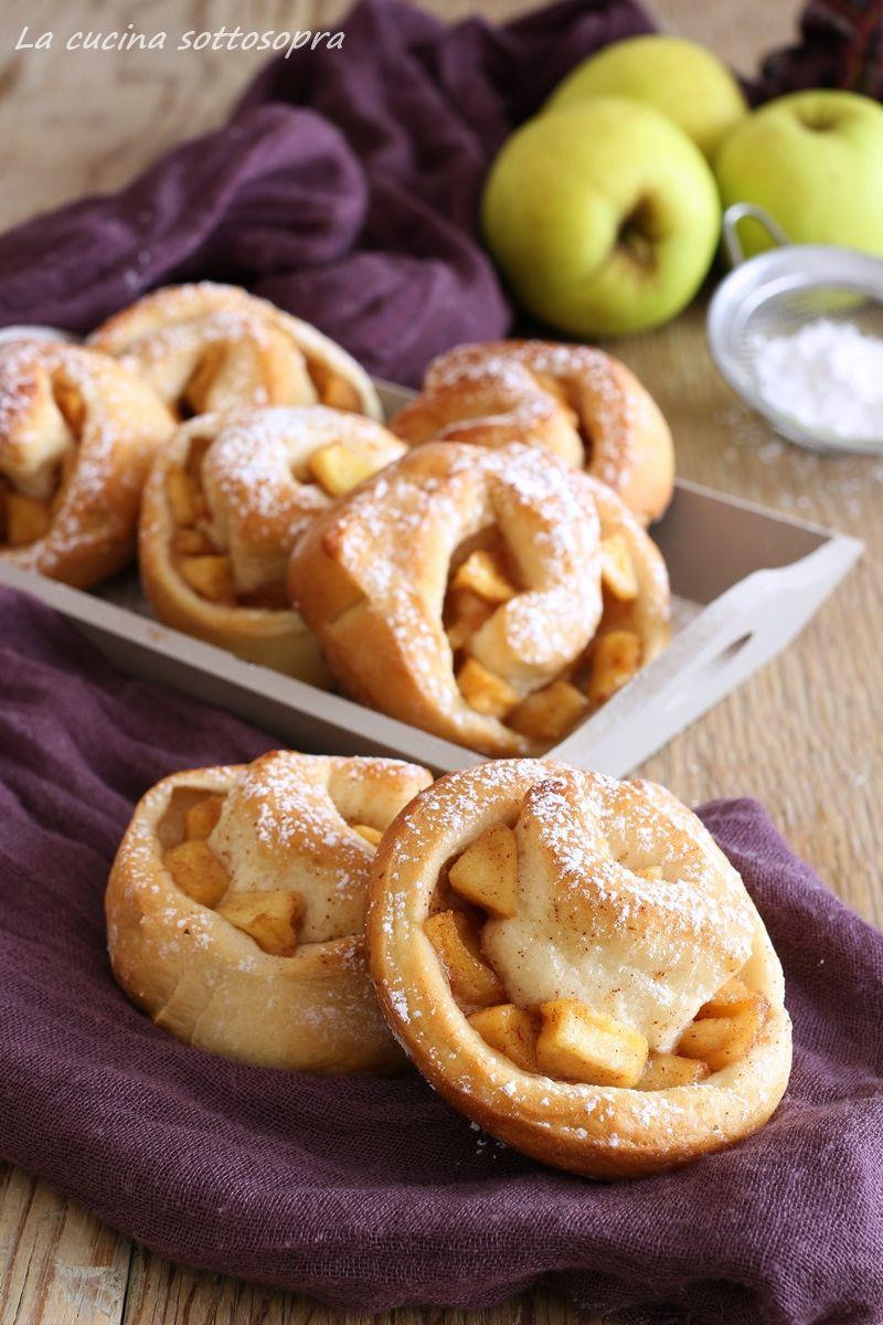 Photo of Girelle di brioche mele caramellate e cannella – light e senza la